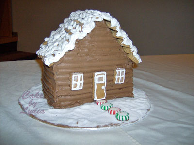 GingerbreadHouseCake